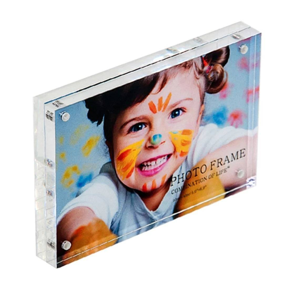 2016 latest acrylic photofunia Magnetic lovely Photo Frame