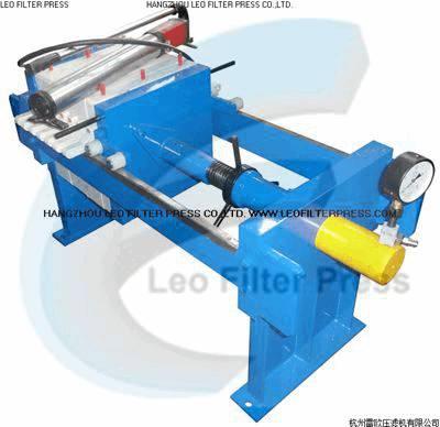 Leo Filter Press Small Size Manual Filter Press