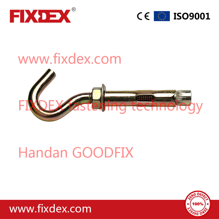 high quality Carbon Steel/SS hardware hook bolt sleeve anchor