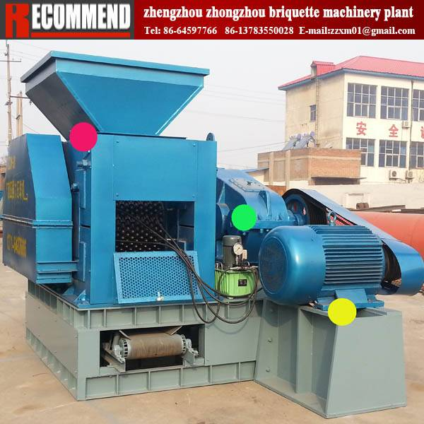Popular in overseas market briquetting machine