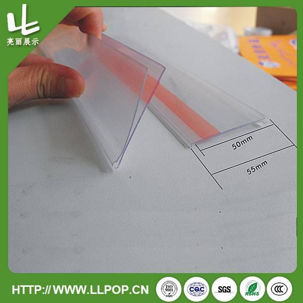 Supermarket Plastic Shelf Label Holder