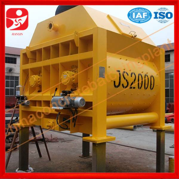 Direct manufacturer JS2000 concrete mixer price