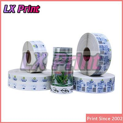 Top quality new product label, part adhesive die-cut vinyl sticker printing