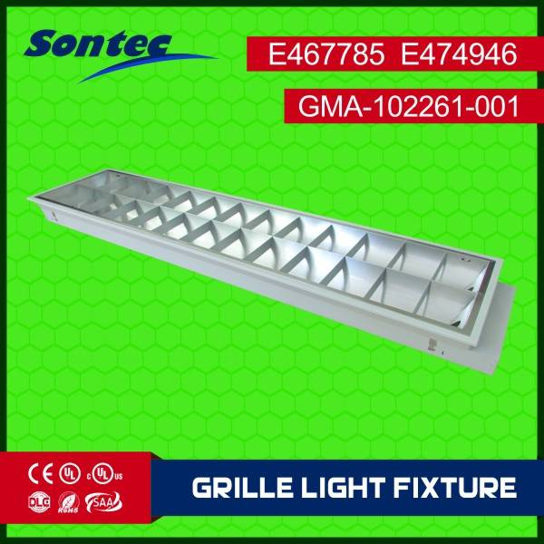 school project using Grille lamps 2X36W T8 type LED grille lamps