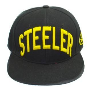 STEELER 3D embroidery snapback cap