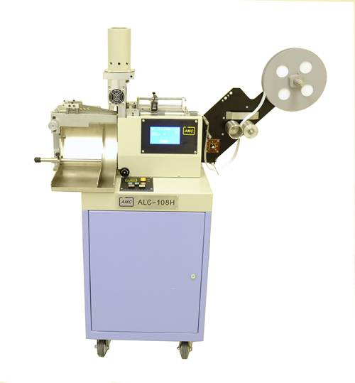 Stacker High Speed Ultrasonic Label Cutter Machine (ALC-108HS)