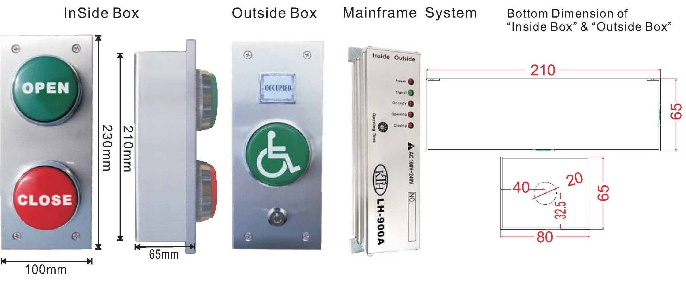 LH-900A LAVATORY SYSTEM FOR DISABLED PEOPLE