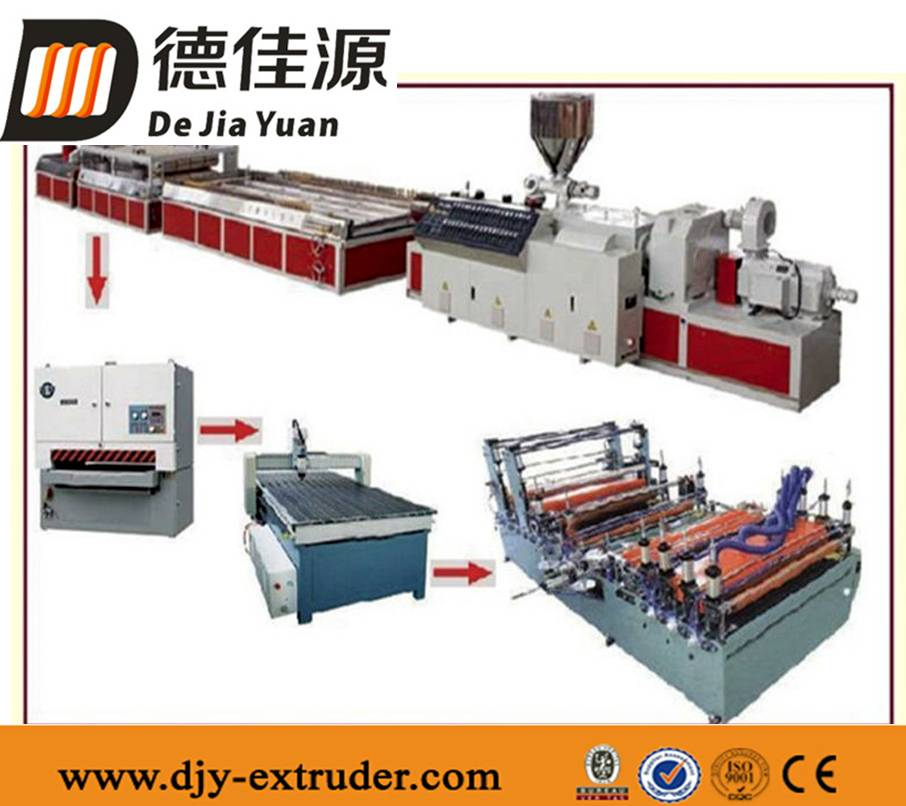 CE&ISO WPC Profile Extrusion Line