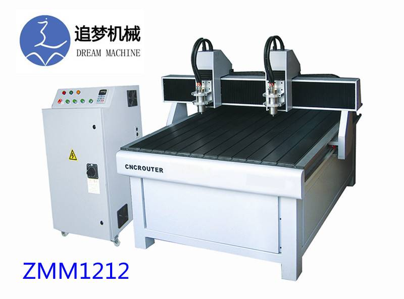 ZMM1212 Two head advertising cnc router