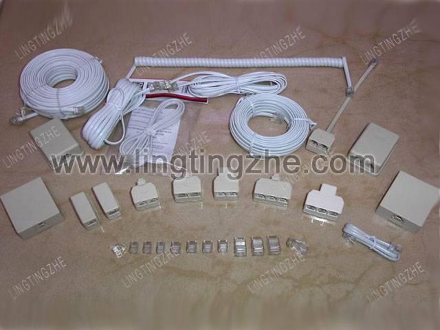 TELEPHONE PLUG / TELEPHONE JACK / CONNECTOR / sockets