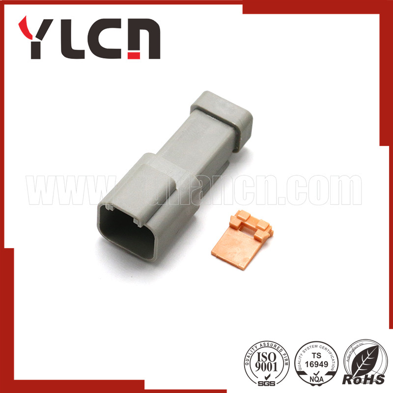 Free samples auto connector gray male waterproof car plug connector