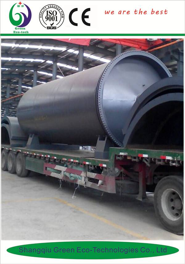 waste tire refinery fuel oil machine