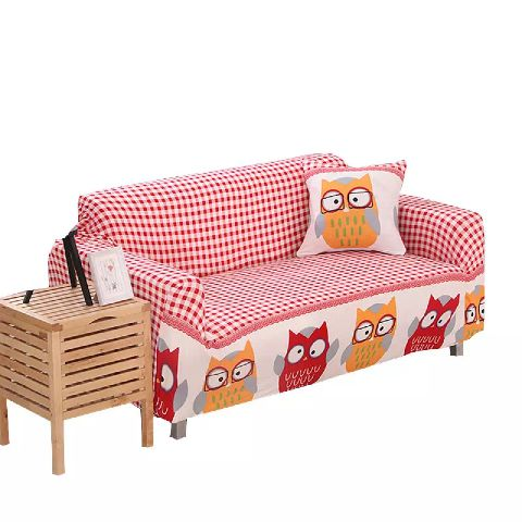 High Quality Home Furniture Printed Knitted Stretch Sofa Cover Case Washable Sofa Cover Stretch Slip
