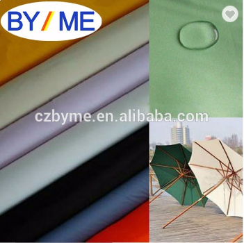 100% polyester taffeta 190T with PU/PVC coated for waterproof raincoat