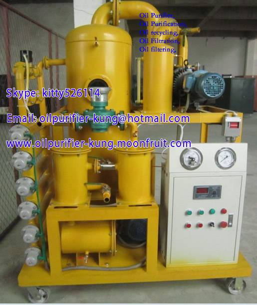 Online Automatic Power Transformer Oil Filtration