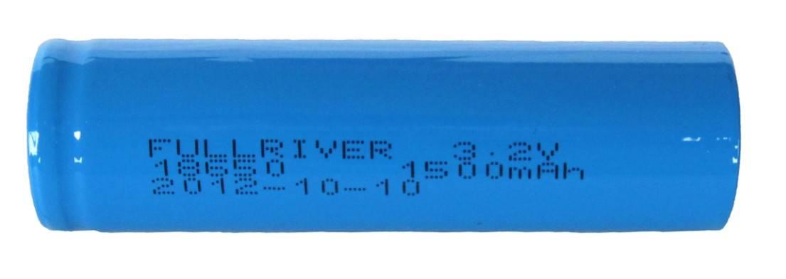 LiFePo4 battery 18650Fe 3.2V 1500mAh