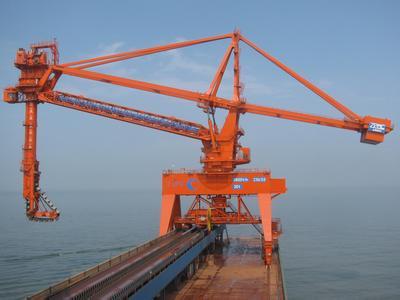 bucket chain ship unloader