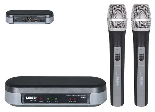 Ls-920 Double Channel UHF Wireless Microphone