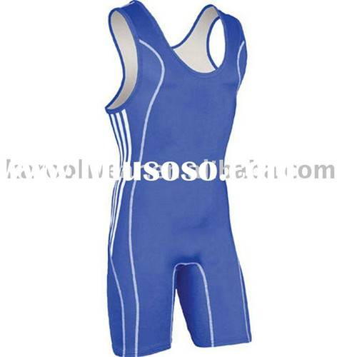 Sublimated Men's  Wrestling wear