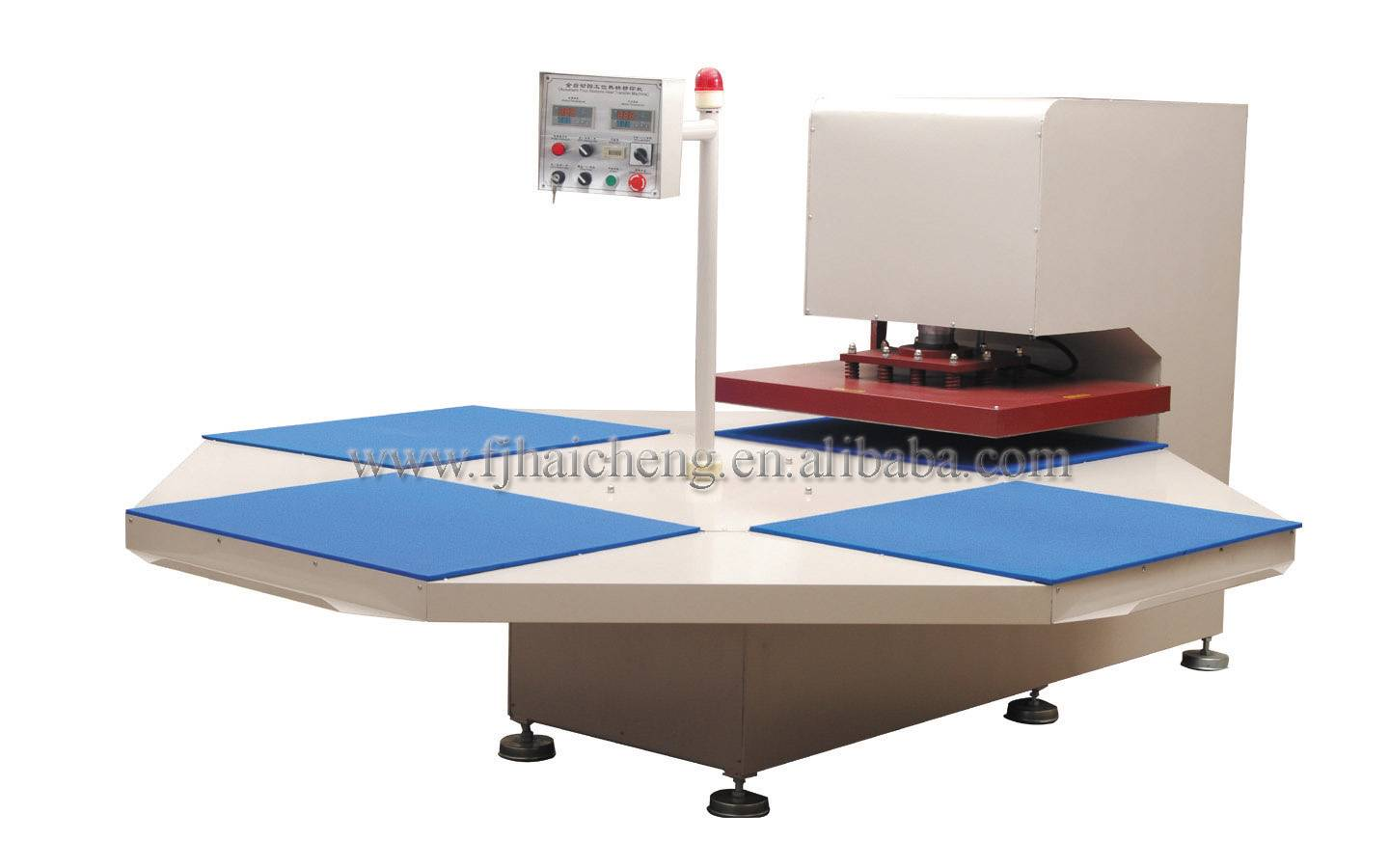 HC-B8 Mechanical type 4-stations heat press machine