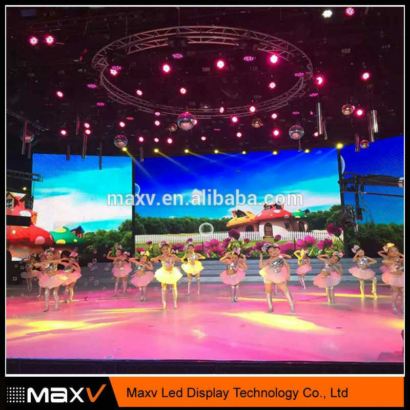 high quality indoor rental full color smd led display