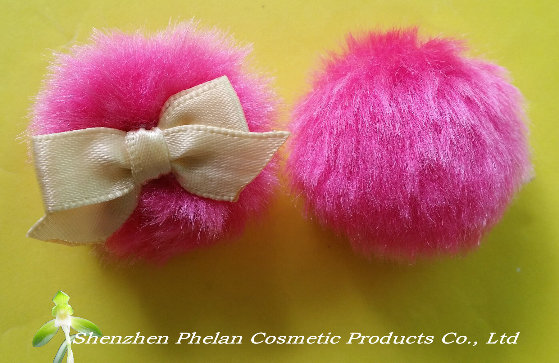 long plush puff, Heart-shaped puff,Plush Puff, Powder Puff, cosmetic powder puff,long velour powder
