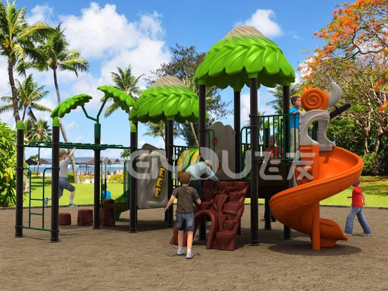 Cheapest Children outdoor playground slide equipment