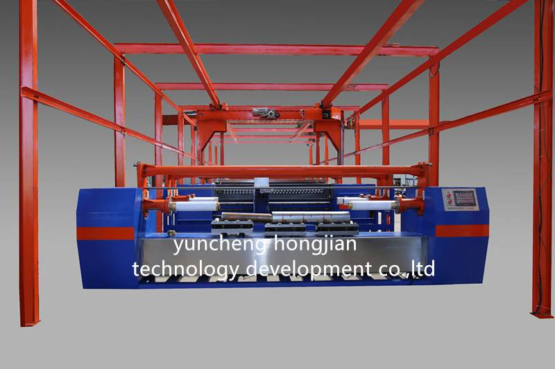 automatic electroplating production line for gravure cylinder making