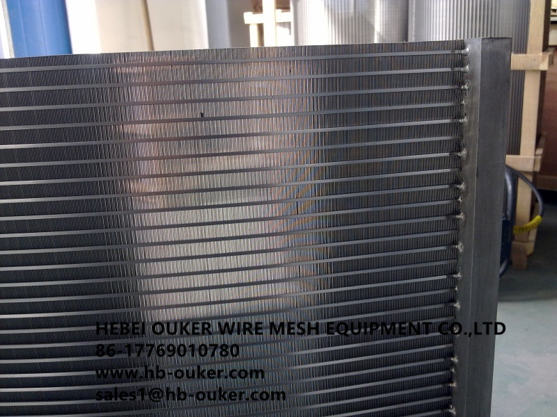 wedge wire screen plate