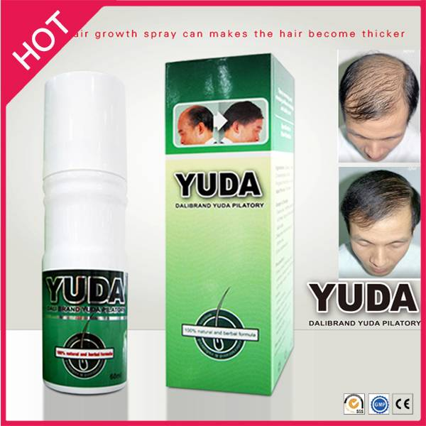 Stop hair loss in 7 days, growth hair in 15 day, Yuda Pilatory Hair Loss Treatment Spray