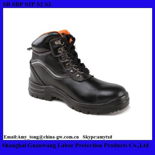Oil/Water/Slip Resitance Leather Safety Shoes/Industrial Work Shoes