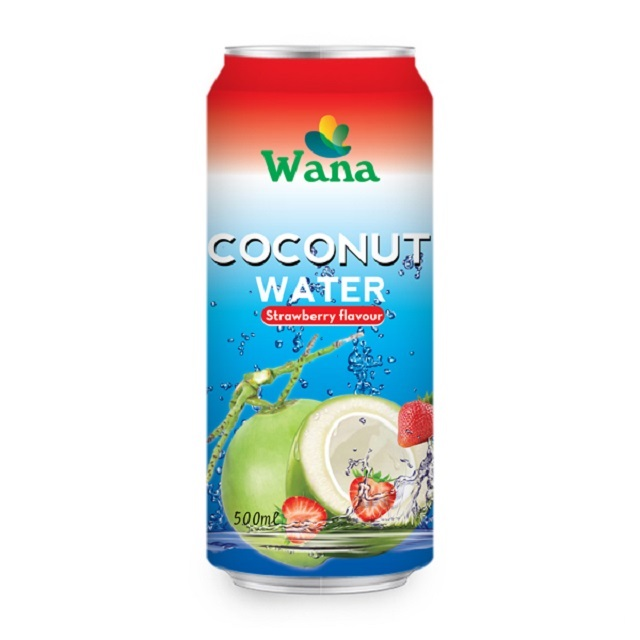 Vietnam Best Coconut Water Export in Vietnam in Can With Fruity Flavor