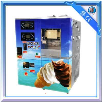 Soft Ice Cream Vending Machine Hm766