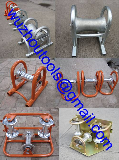 Underground Cable Rollers,Straight Line Cable Roller,Tube Rollers
