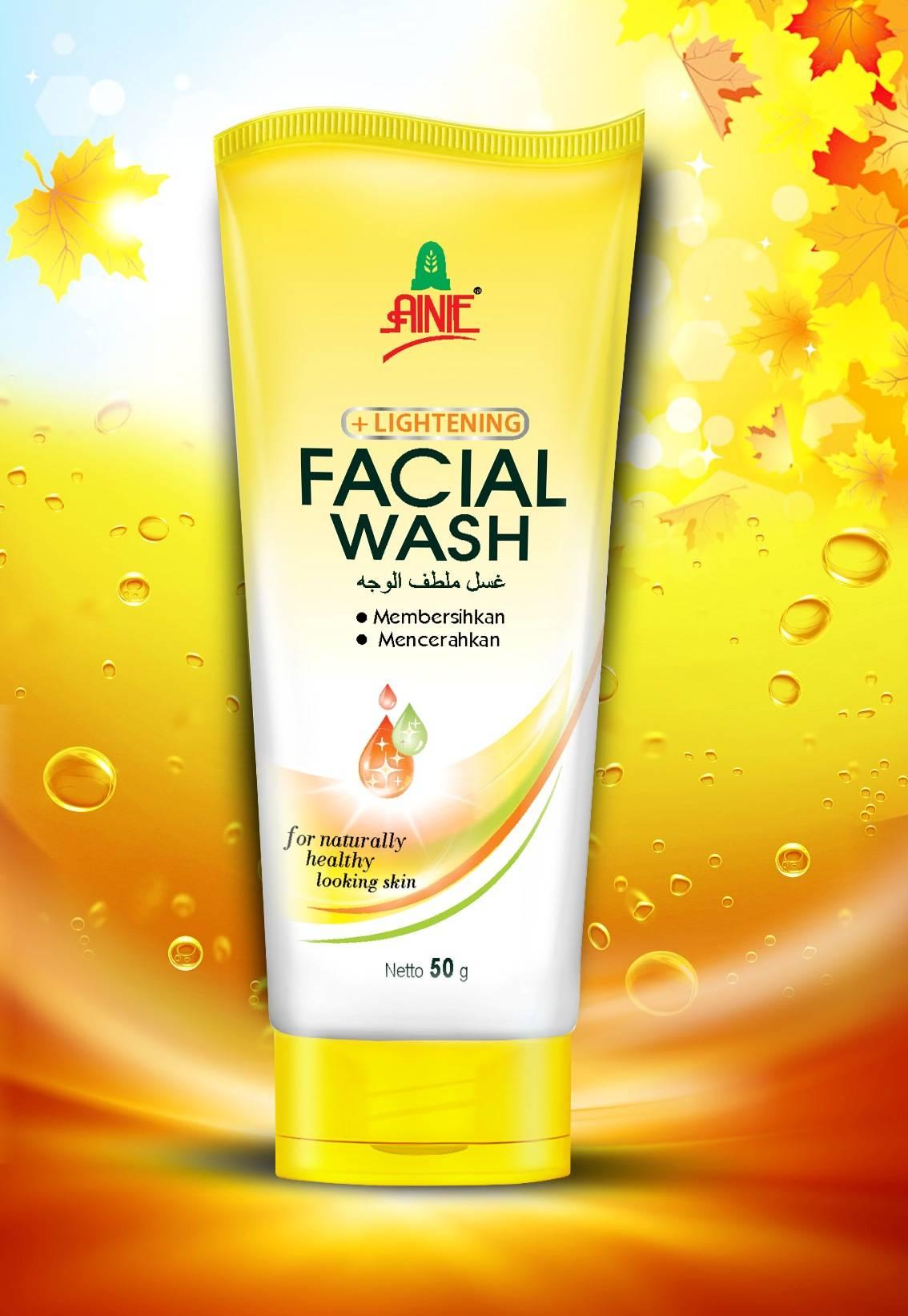 Ainie Lightening Facial Wash