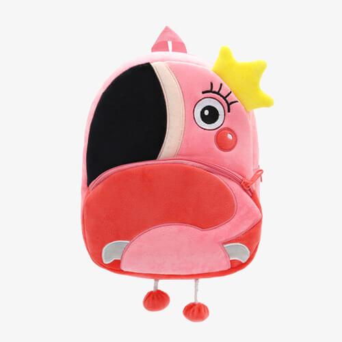 China custom plush handbags supplier & school bags