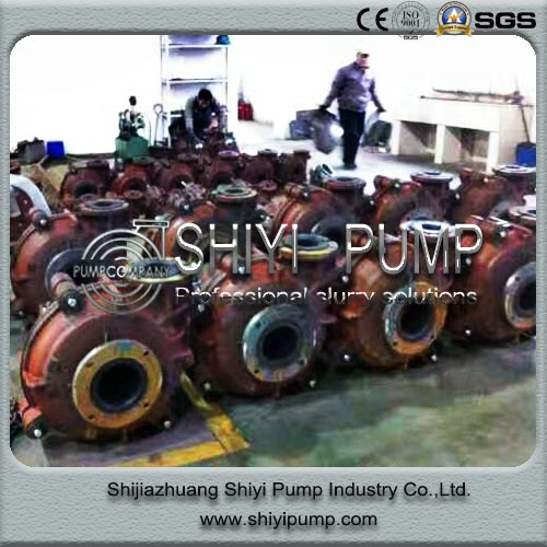 Centrifugal Heavy Duty Cyclone Feed Water Treatment 6/4D Slurry Pump