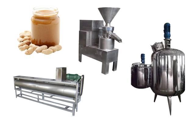 (200 Kg/hour) Peanut Butter Making Machine Product Line