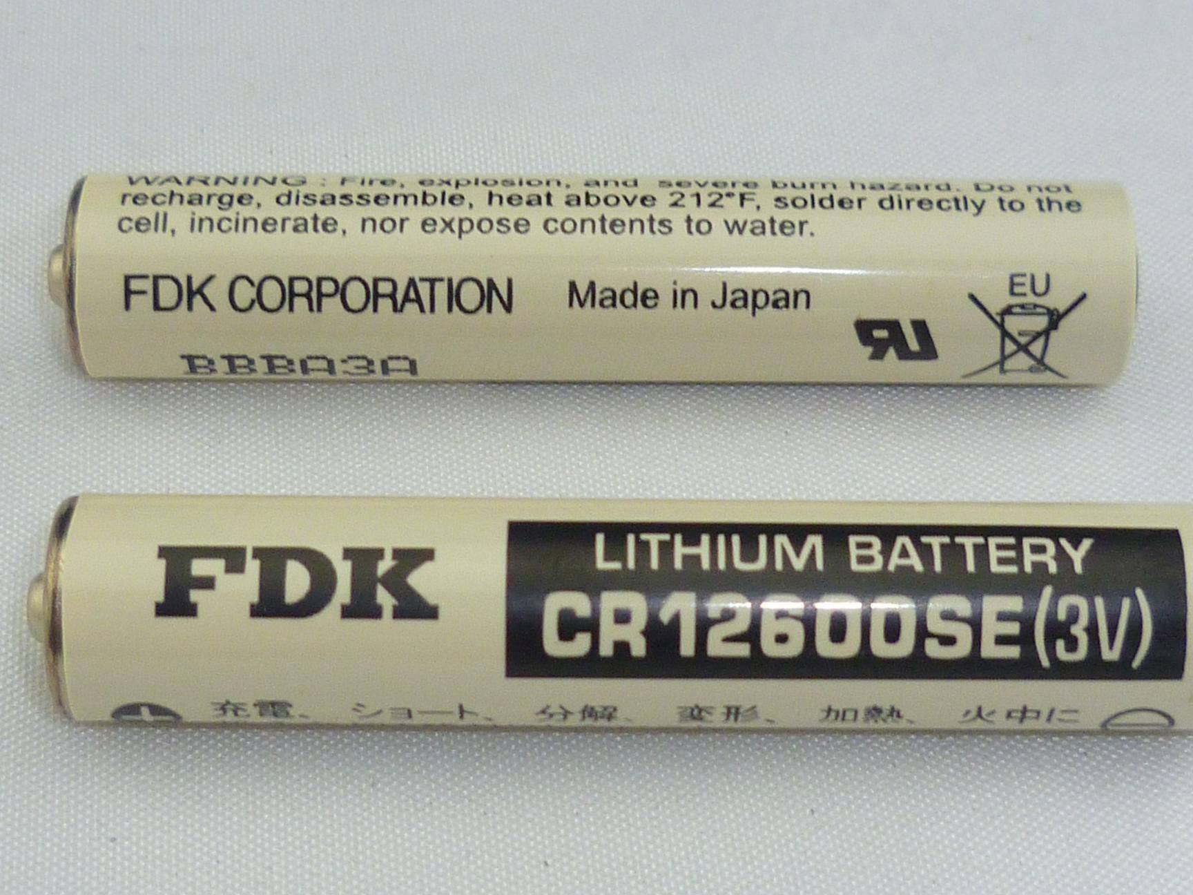 Lithium Battery FDK CR12600SE(3V)