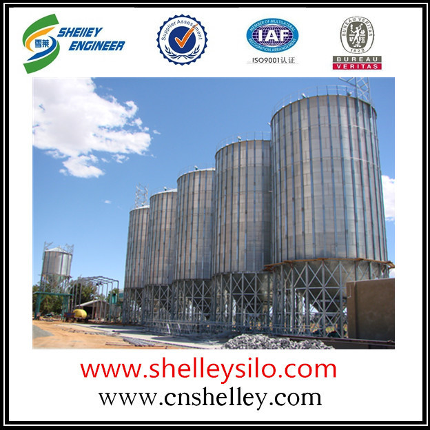 Beans storage steel silo cost