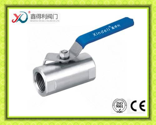 Wide-Type Ball Valve with Internal Thread