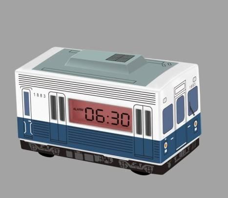 Bus alarm clock