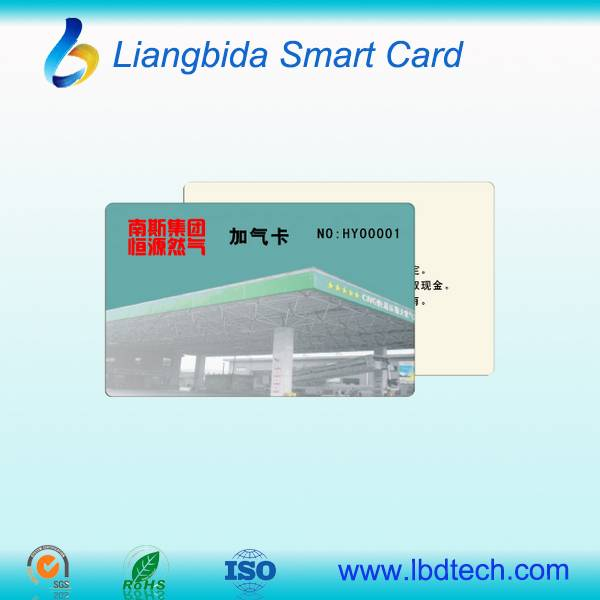 China high quality PVC card with low price