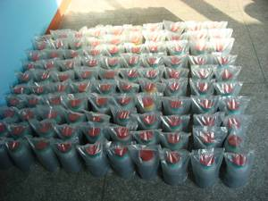 Thermal battery Zirconium powder materials