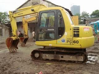 used komatsu excavator PC60