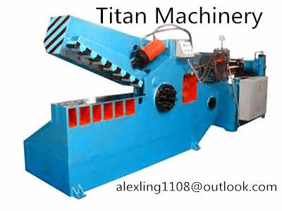 (Titan) Q43-630 hydraulic alligator shear