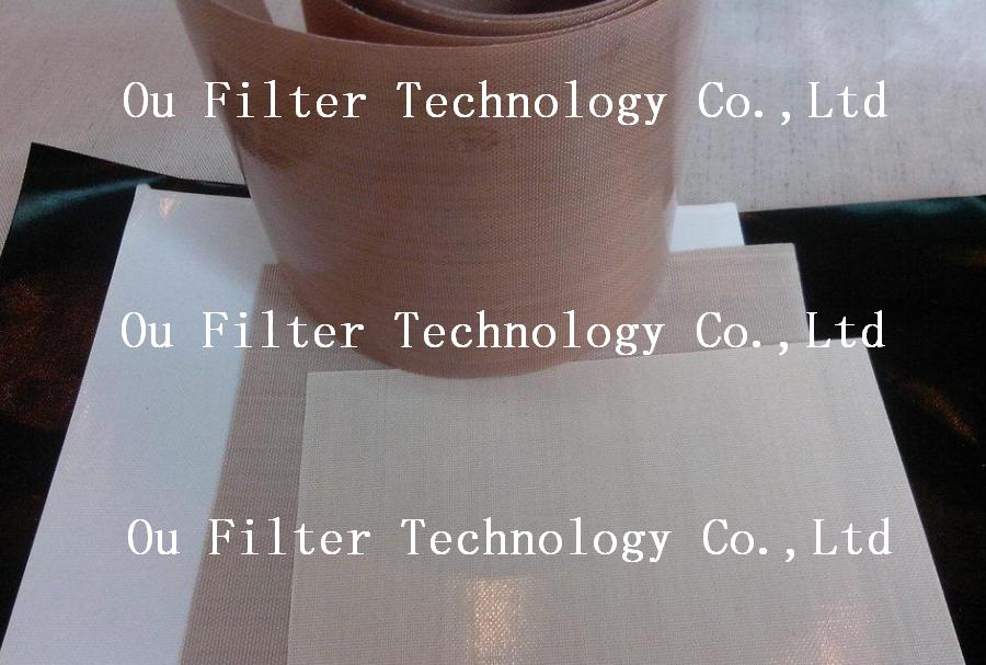 High temperature PTFE coated fabric