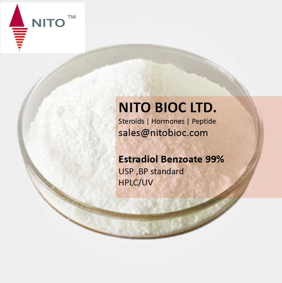 Factory control quality, strong steroid: Estradiol Benzoate with CAS NO:50-50-0
