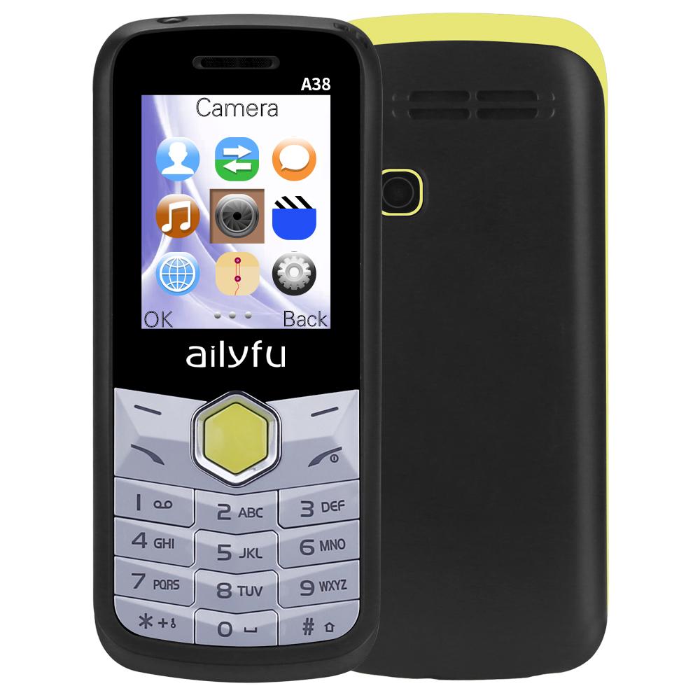GSM Low Price 1.77 inch GSM sim card senior phone facebook big keyboard mobile phone