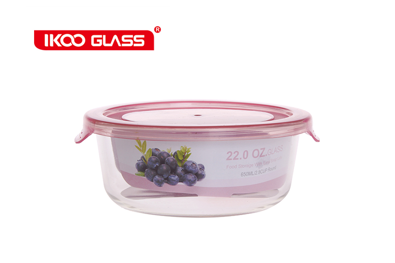 Freezer and oven safe pyrex glass food containers wholesale